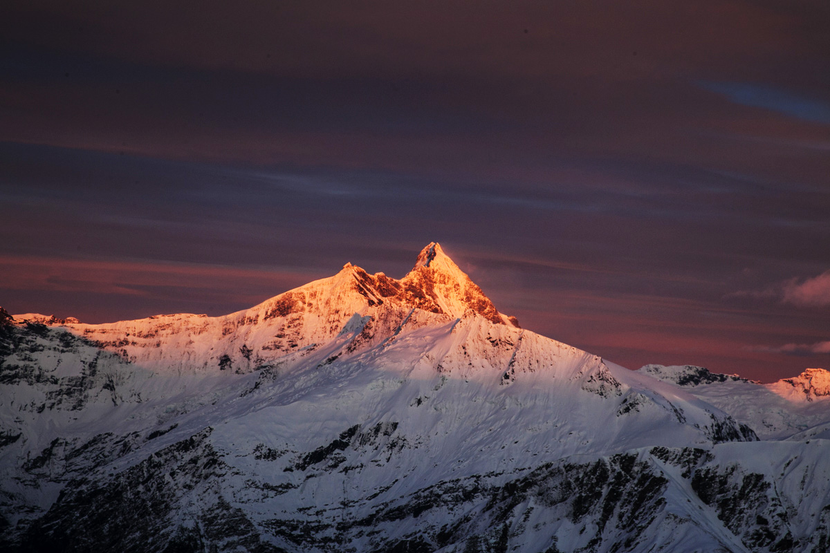 Mt Aspiring at Dawn
