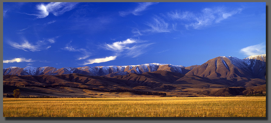 Dramatic Central Otago  landscapes